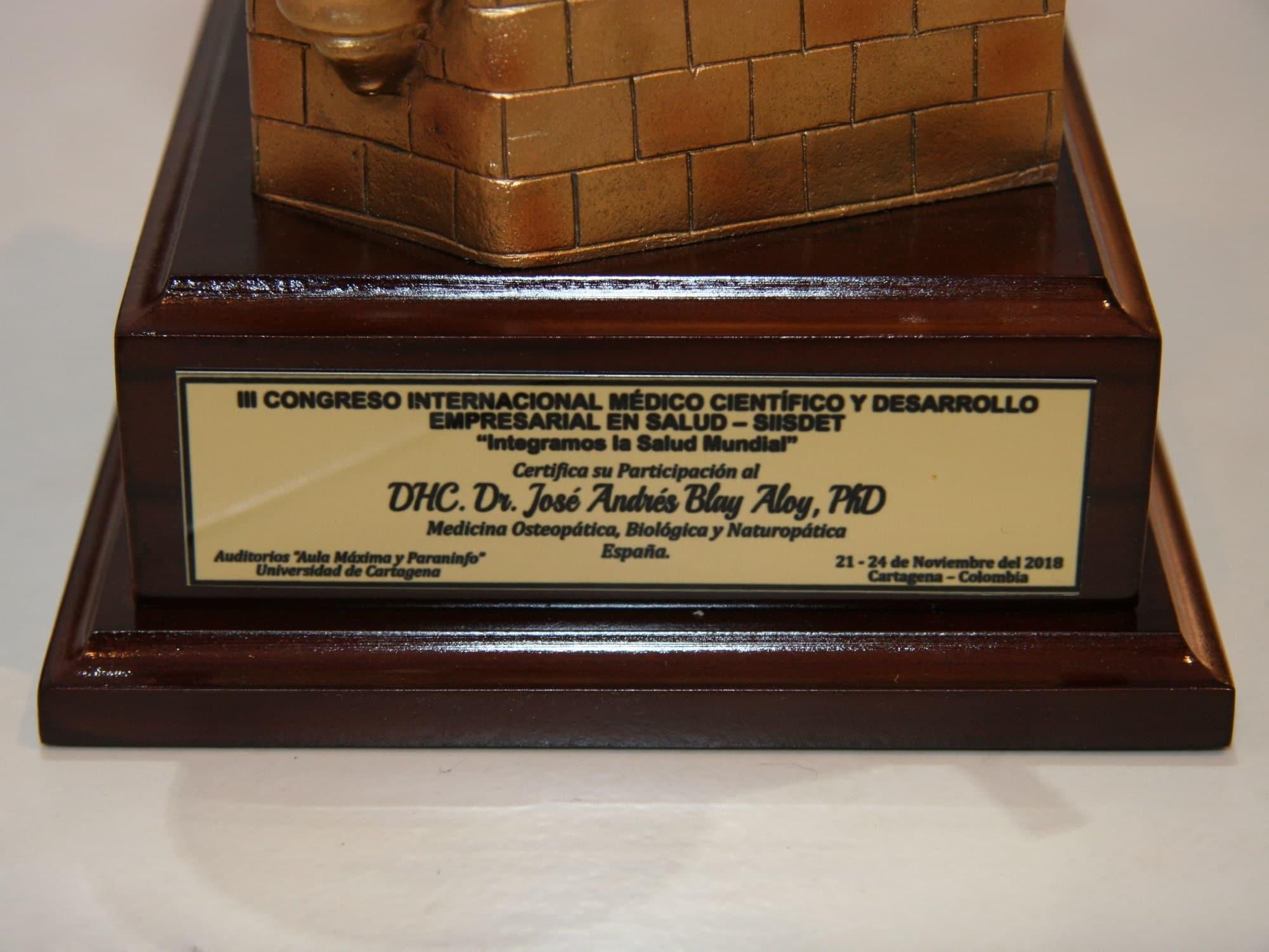 III Congreso Internacional Medico Cientifico y desarrollo empresarial en salud SIISDET Jose Andres Blay Aloy