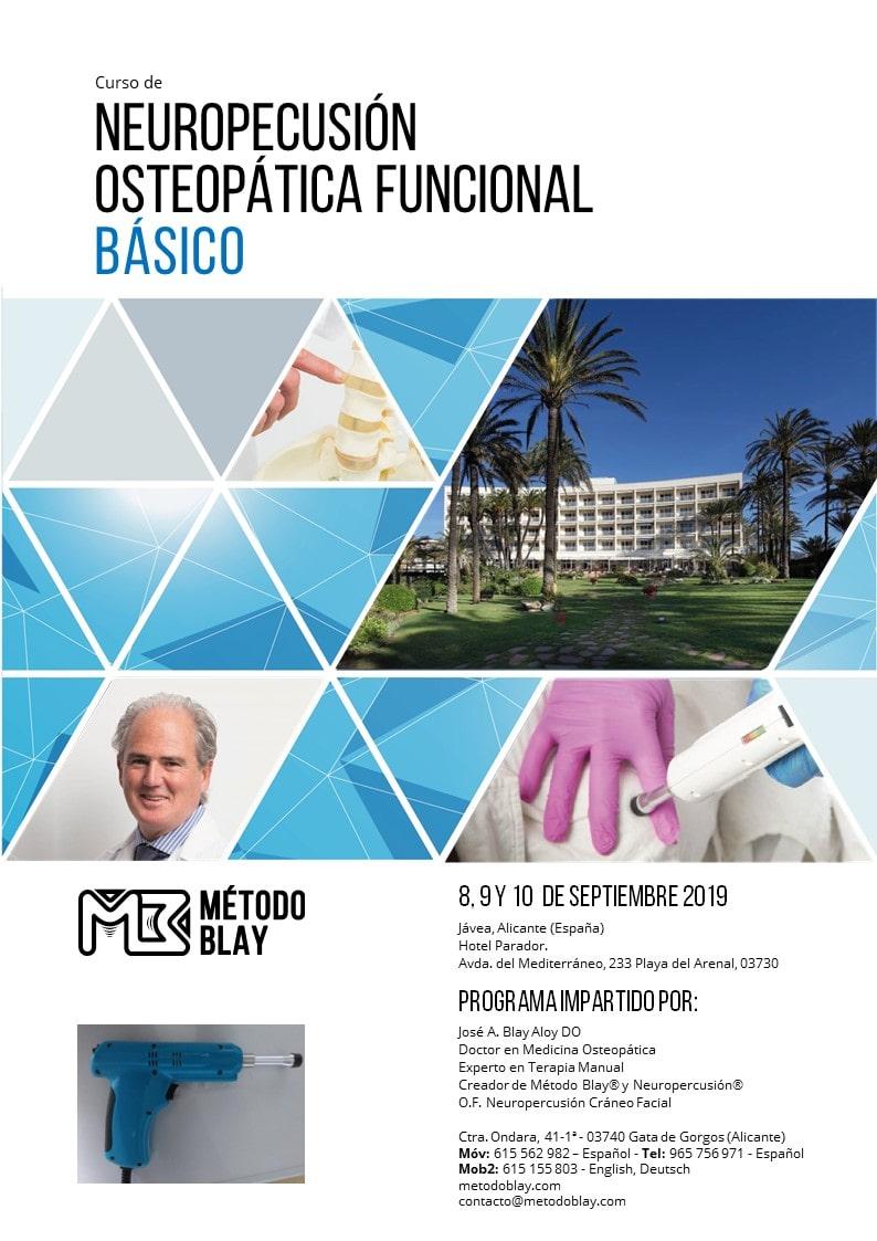 Curso Neuropercusión Osteopática Funcional sept 2019