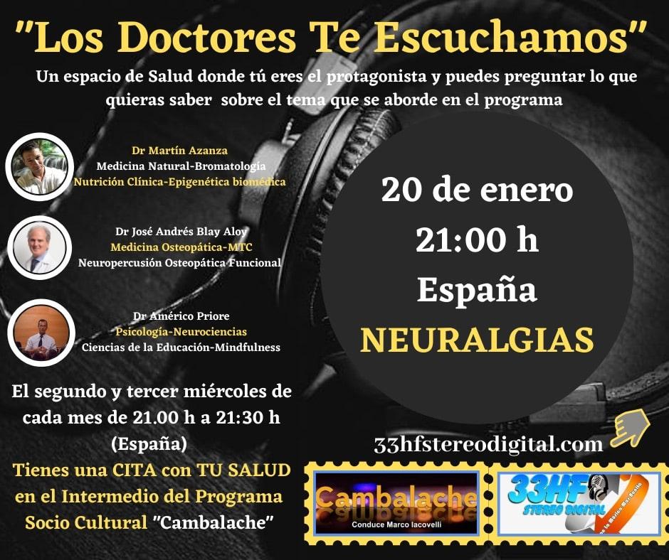 Los Doctores te escuchamos - 2021-01-20 @ 21h